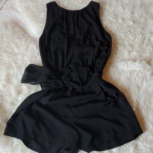 Zara Black Flowy Romper